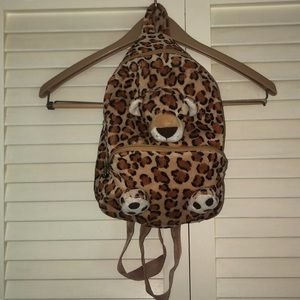 Other - Leopard Print Animal Backpack
